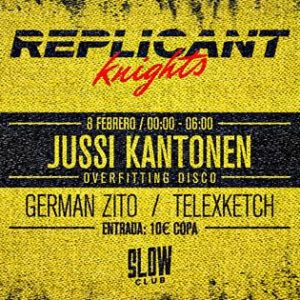 Replicant Knights Kung Fu Disco: Jussi Kantonen + GermanZito + Telexketch